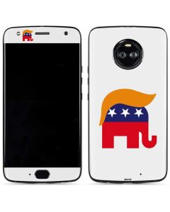 Republican Trump Hair Moto X4 Skin