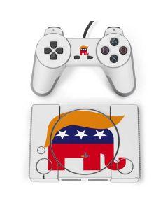 Republican Trump Hair PlayStation Classic Bundle Skin