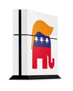 Republican Trump Hair PS4 Console Skin