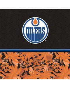 Edmonton Oilers Retro Tropical Print Apple TV Skin
