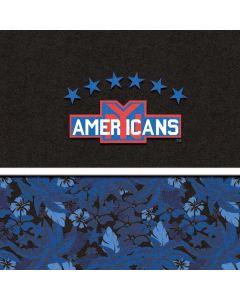New York Americans Retro Tropical Print Apple TV Skin