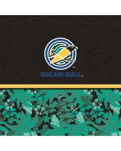 Oakland Seals Retro Tropical Print Apple TV Skin