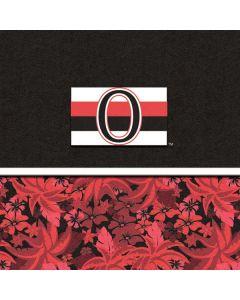 Ottawa Senators Retro Tropical Print Moto X4 Skin
