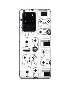 Retro Gaming Controllers Galaxy S20 Ultra 5G Skin