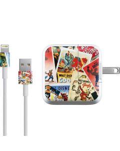 Retro Goofy Stamps iPad Charger (10W USB) Skin