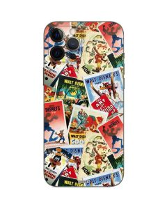 Retro Goofy Stamps iPhone 12 Pro Max Skin