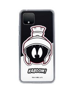 Retro Marvin The Martian Google Pixel 4 Clear Case