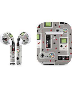 Retro Nintendo Pattern Apple AirPods 2 Skin