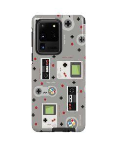 Retro Nintendo Pattern Galaxy S20 Ultra 5G Pro Case