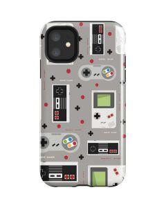 Retro Nintendo Pattern iPhone 11 Impact Case