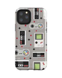 Retro Nintendo Pattern iPhone 11 Pro Impact Case