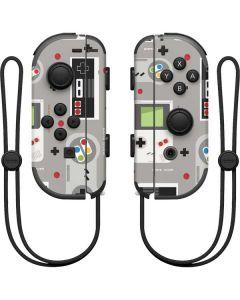 Retro Nintendo Pattern Nintendo Joy-Con (L/R) Controller Skin