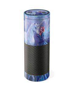 Rhiannon Fairy and Unicorn Amazon Echo Skin