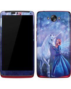 Rhiannon Fairy and Unicorn Motorola Droid Skin
