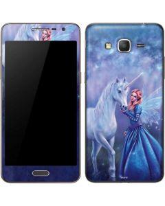 Rhiannon Fairy and Unicorn Galaxy Grand Prime Skin