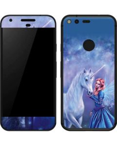 Rhiannon Fairy and Unicorn Google Pixel Skin
