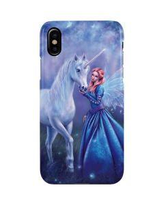 Rhiannon Fairy and Unicorn iPhone XS Max Lite Case
