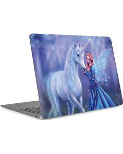 Rhiannon Fairy and Unicorn Apple MacBook Air Skin