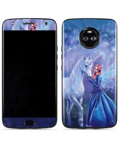 Rhiannon Fairy and Unicorn Moto X4 Skin