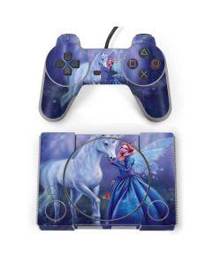 Rhiannon Fairy and Unicorn PlayStation Classic Bundle Skin
