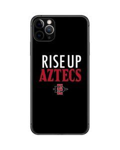 Rise Up Aztecs iPhone 11 Pro Max Skin