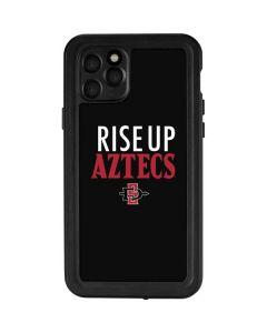 Rise Up Aztecs iPhone 11 Pro Waterproof Case