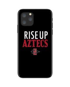 Rise Up Aztecs iPhone 11 Pro Skin