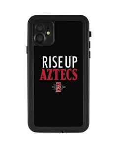 Rise Up Aztecs iPhone 11 Waterproof Case