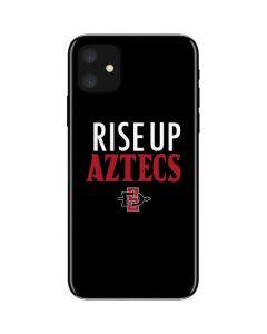 Rise Up Aztecs iPhone 11 Skin