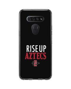 Rise Up Aztecs LG K51/Q51 Clear Case