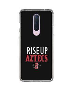 Rise Up Aztecs OnePlus 8 Clear Case