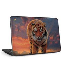 Rising Tiger HP Chromebook Skin