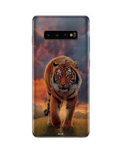 Rising Tiger Galaxy S10 Plus Skin