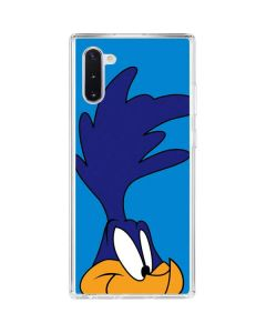 Road Runner Zoomed In Galaxy Note 10 Clear Case