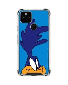 Road Runner Zoomed In Google Pixel 4a 5G Clear Case