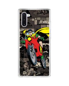 Robin Mixed Media Galaxy Note 10 Clear Case