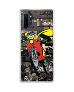 Robin Mixed Media Galaxy Note 10 Plus Clear Case