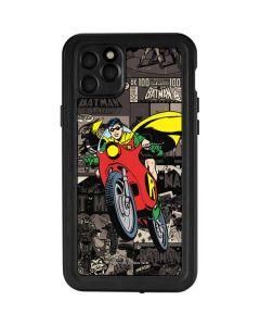 Robin Mixed Media iPhone 11 Pro Max Waterproof Case