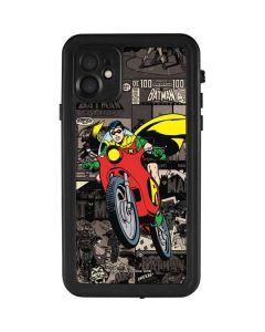 Robin Mixed Media iPhone 11 Waterproof Case