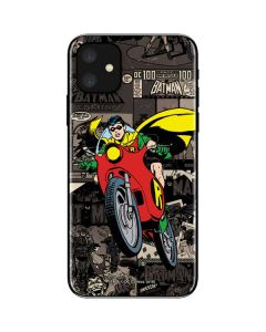 Robin Mixed Media iPhone 11 Skin
