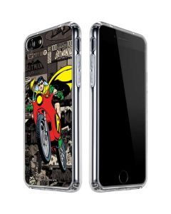 Robin Mixed Media iPhone SE Clear Case
