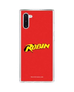 Robin Official Logo Galaxy Note 10 Clear Case