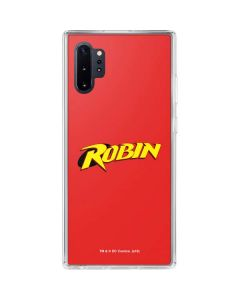 Robin Official Logo Galaxy Note 10 Plus Clear Case