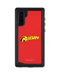 Robin Official Logo Galaxy Note 10 Waterproof Case