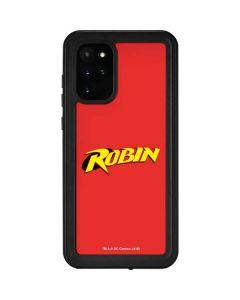 Robin Official Logo Galaxy S20 Plus Waterproof Case