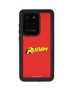 Robin Official Logo Galaxy S20 Ultra 5G Waterproof Case