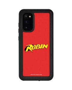 Robin Official Logo Galaxy S20 Waterproof Case
