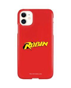 Robin Official Logo iPhone 11 Lite Case