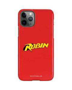 Robin Official Logo iPhone 11 Pro Lite Case
