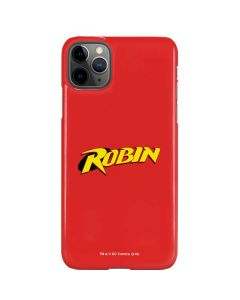 Robin Official Logo iPhone 11 Pro Max Lite Case